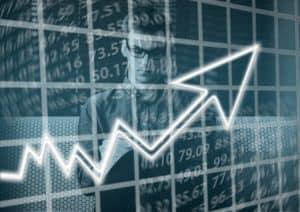 מניות של תאגיד עולות
