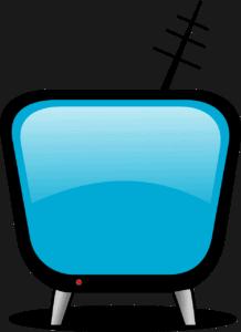 אילוסטרציה של טלוויזיה