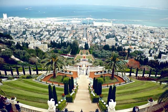 הגנים הבאהיים חיפה - תמונה לדוגמה